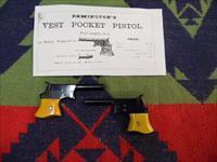 CONSECUTIVE PAIR REMINTON VEST POCKET PISTOLS