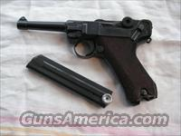 LUGER 41-42 ONLY 7,000 PRODUCED