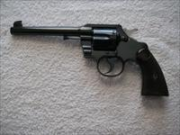 COLT OFFICERS MODEL 38 (SECOND ISSUE) IN LIKE NEW ORIGINAL CONDITION