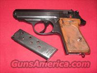 WALTHER PPK E/C NAZI POLICE PROOFED