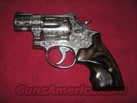 SMITH & WESSON MOD.15-2 CAL.38 SPL FULLY ENGRAVED REVOLVER