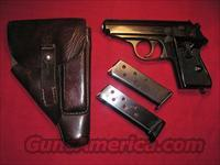 WALTHER PPK RZM WITH PARTY LEADER GRIPS FULL RIG