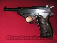 Walther WW2 P38 Code 480 in excelent cond.