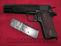 COLT US ARMY 1911 BLACK ARMY FINISH