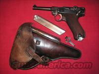 LUGER K-DATE WITH 2 MATCHIND MAGS & HOLSTER