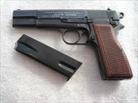 BROWNING HIGH POWER NAZI PRODUCTION IN EXCELLENT ORIGINAL CONDITION