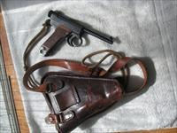 NAMBU MODEL 14 JAPANESE PISTOL FULL RIG, ALL MATCHING IN EXCELLENT ORIGINAL CONDITION