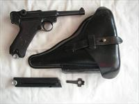 LUGER 1939 MAUSER BANNER POLICE FULL RIG WITH 2 MATCHING MAGS