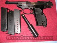 "P38, code ""480"", with 2 brls 9mm & 30cal"