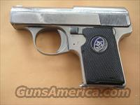 WALTHER MODEL 9 NICKEL FINISH CAL.25ACP