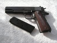 ITHACA 1911A1 WW2  IN EXTREMELY RARE MINT ORIGINAL CONDITION TEST FIRED ONLY
