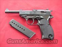 WALTHER P38 ZERO SERIES RUSSIAN CAPTURED IN WW2