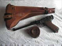 LUGER ARTILLERY 1915 RIG W/MATCHING SERIAL NUMBER MAGAZINE