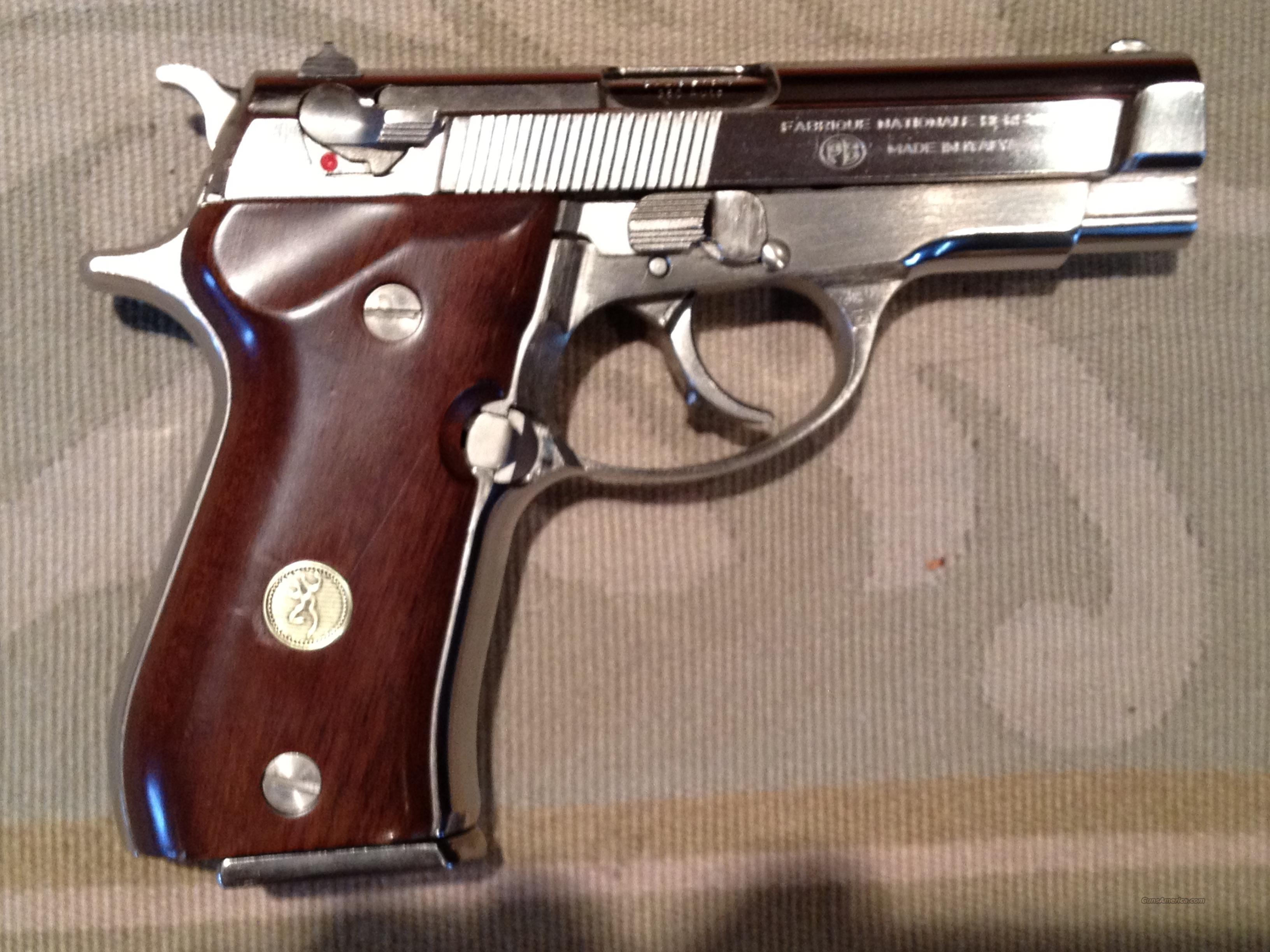 Browning BDA 380 Nickel