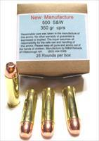 500 Smith & Wesson Ammo