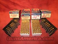 NEW FACTORY 200 ROUNDS PETERS 22 REM JET MAGNUM AMMO 40GR SP >> FREE SHIPPING