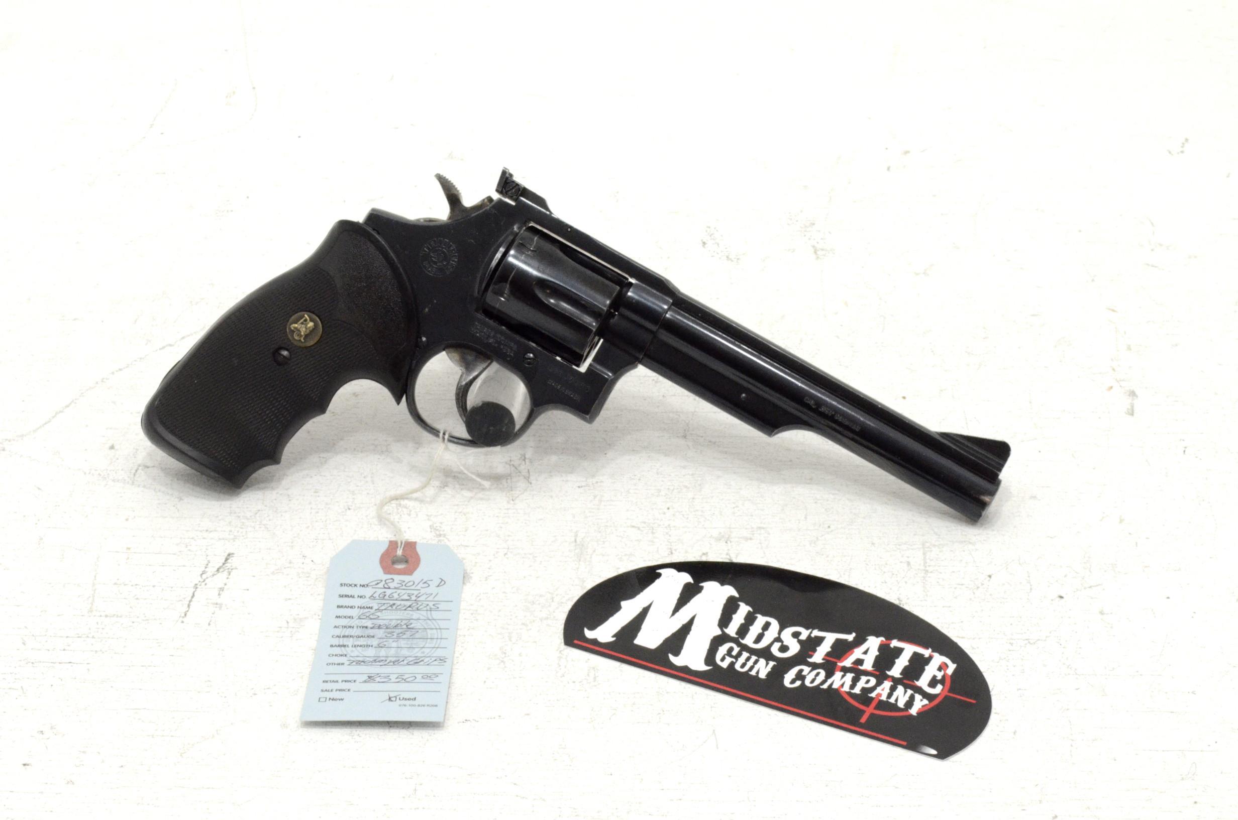 Taurus 66 Revolver  357 6