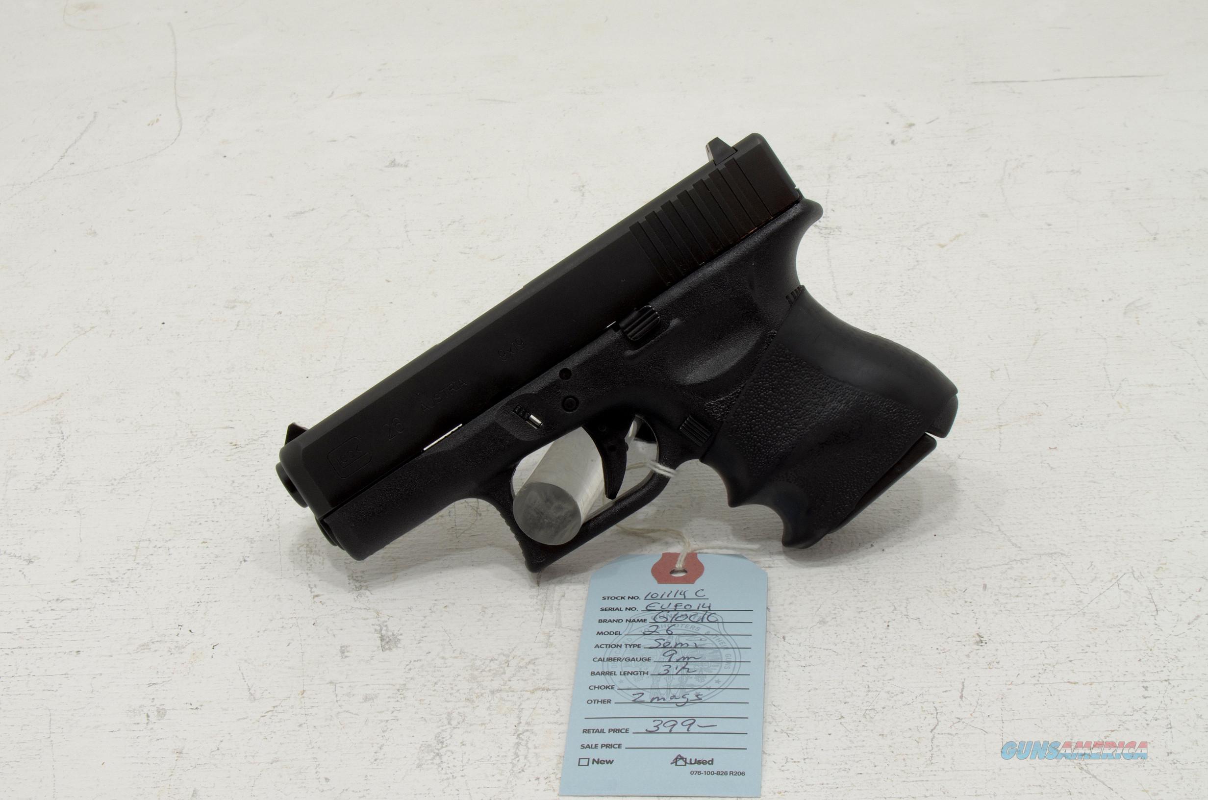 Glock 26 Gen3 9mm For Sale