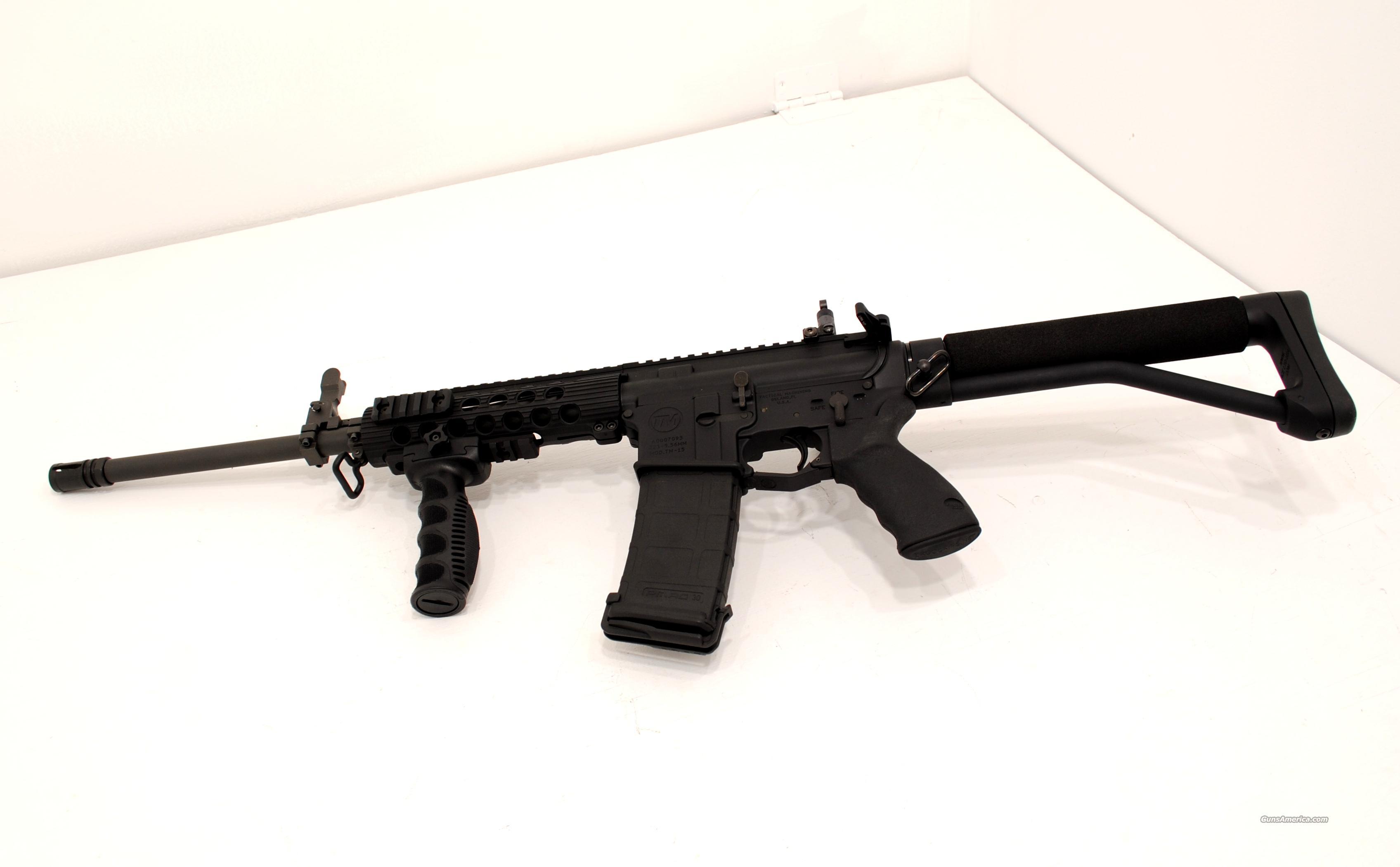 tactical machine