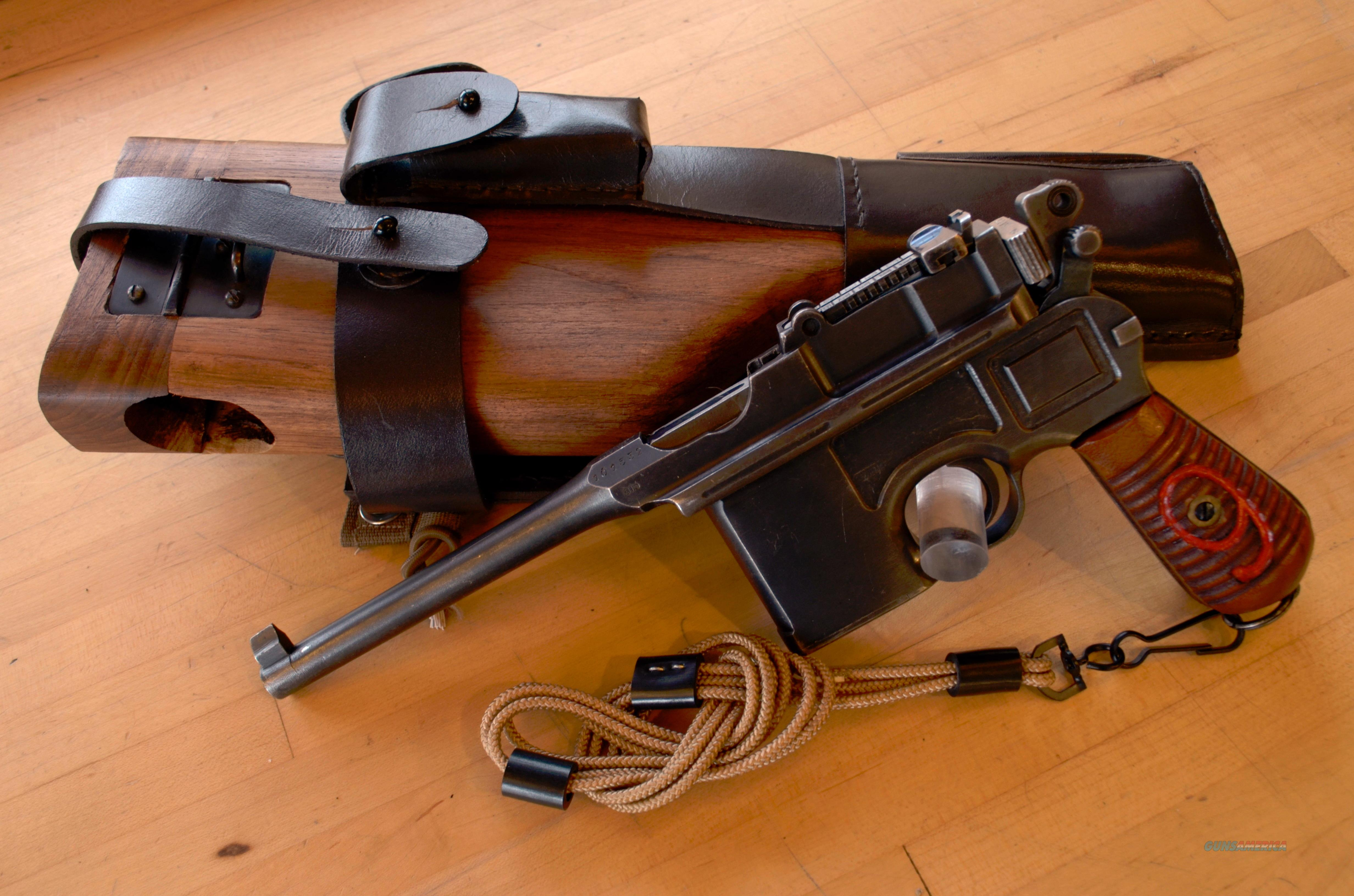 used mauser c96 in 9mm for sale