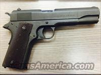 Colt 1911 (dates to 1918)