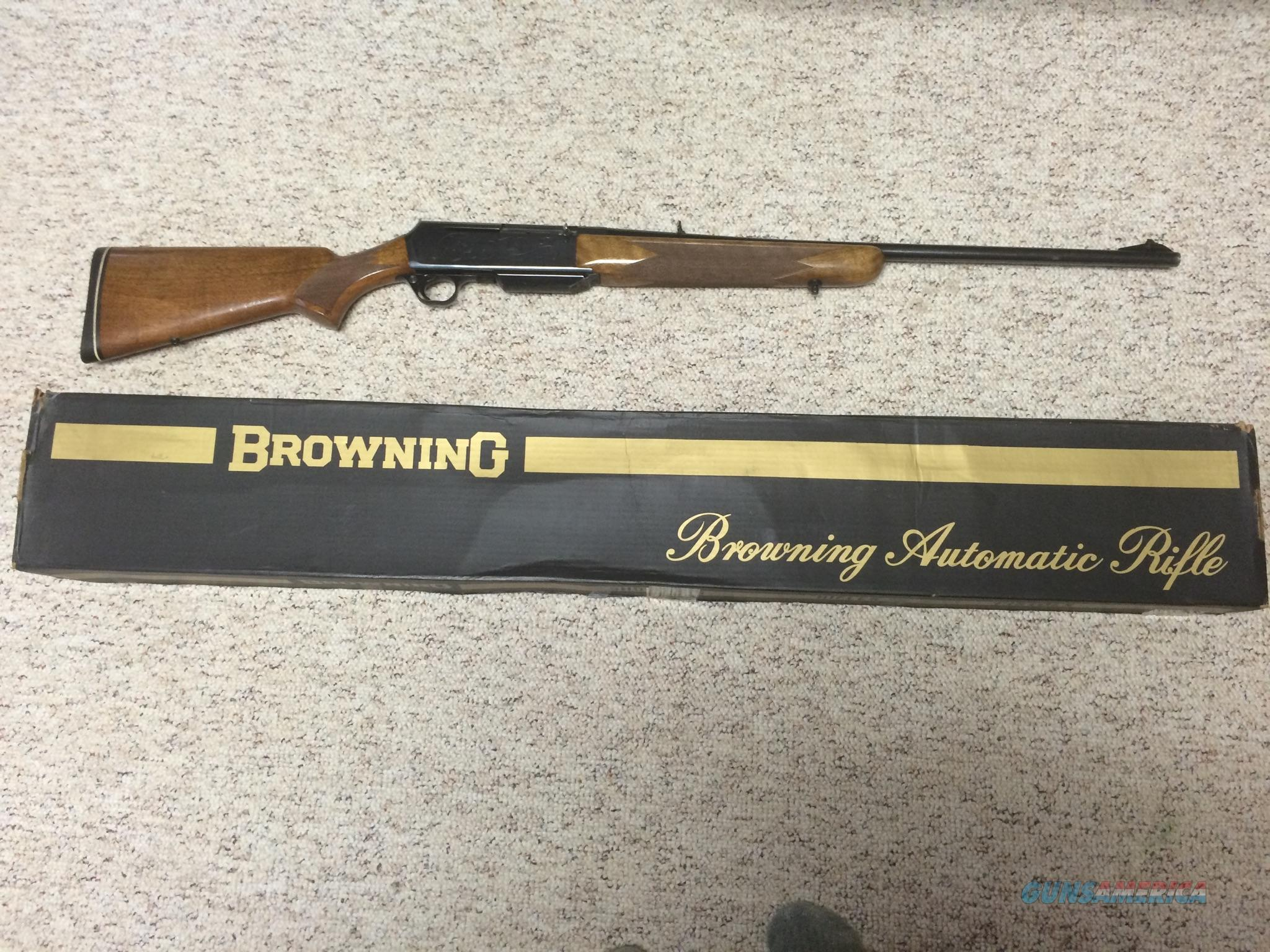 Absolute Auto Sales >> Browning BAR Grade II 7mm Remington Magnum 100%... for sale