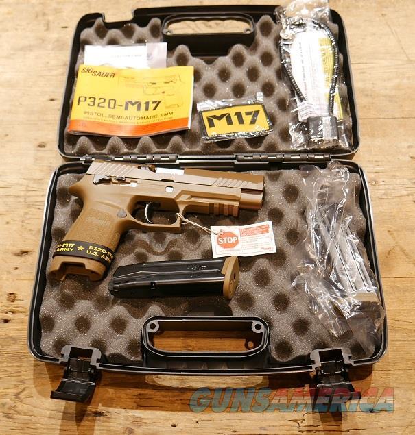 Sig Sauer P320 M17 9mm 320F-9-M17-MS
