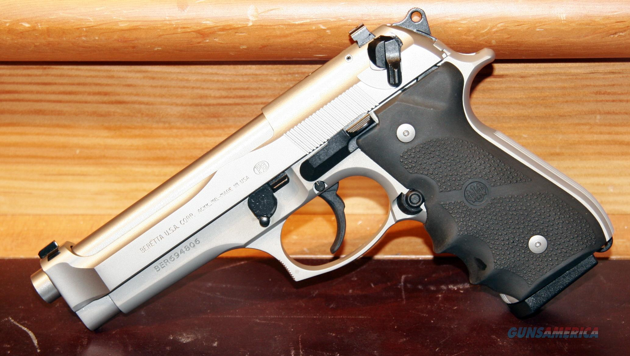 - Beretta 92 Brigadier INOX 9mm - CA OK!