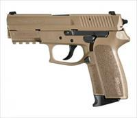 Sig Sauer 2022 9mm FDE Night Sights