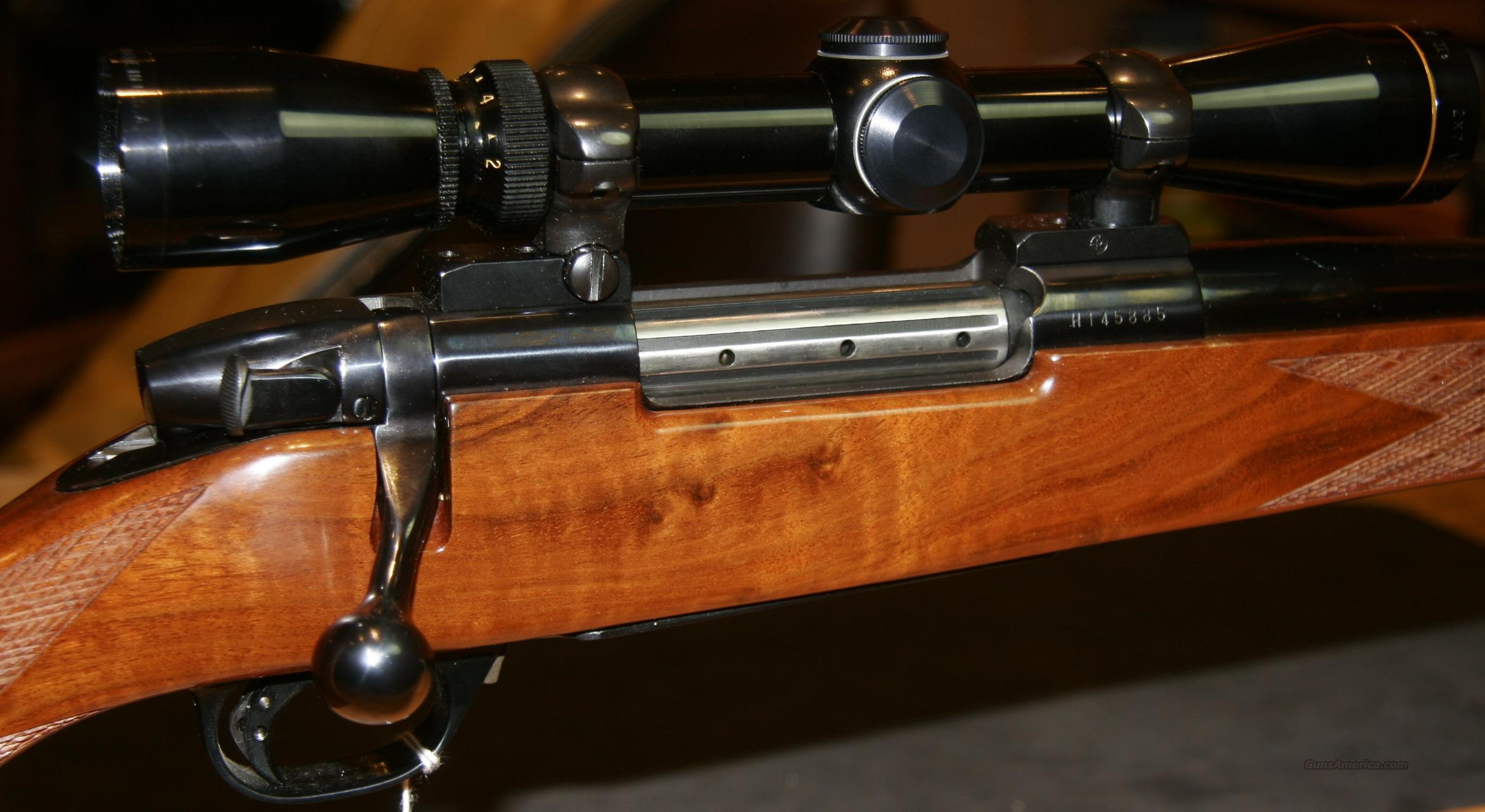 Weatherby Mark V Europa Bolt-Action 8x68s Japanese made Rifle