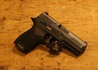 Sig Sauer P320 Compact 9mm Safety and Night Sights