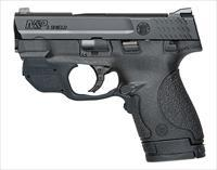 9MM M&P Shield with Green Crimson Trace Laserguard