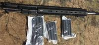 "APF UPPER 450 BUSHMASTER 20"" SS SHAW BARREL AR 15 with choice of mag 5,7, or 9rd"