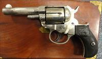 "Colt 1877 Lightning, .38 colt, nickel, ""Store Keeper"""
