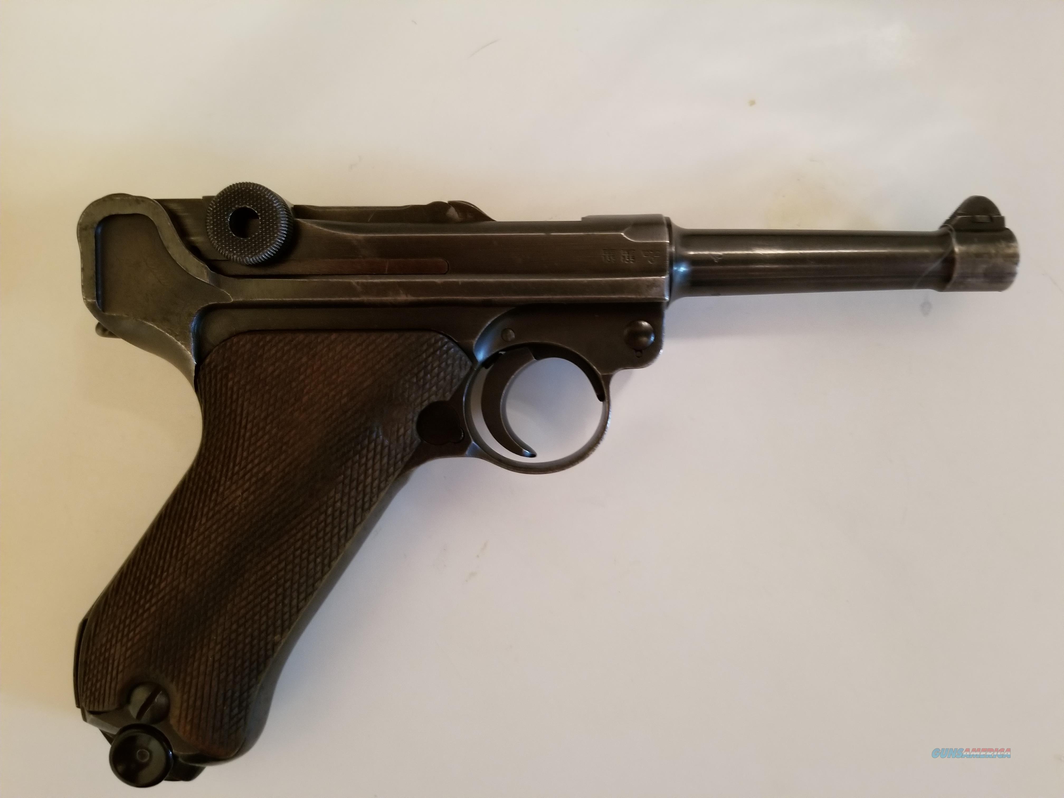Luger pistols sale german for Deactivated Luger