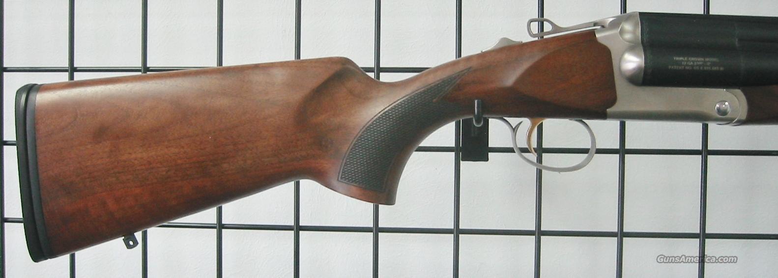 Chiappa triple crown triple barrel shotgun 12g for sale 6507346g thecheapjerseys Choice Image