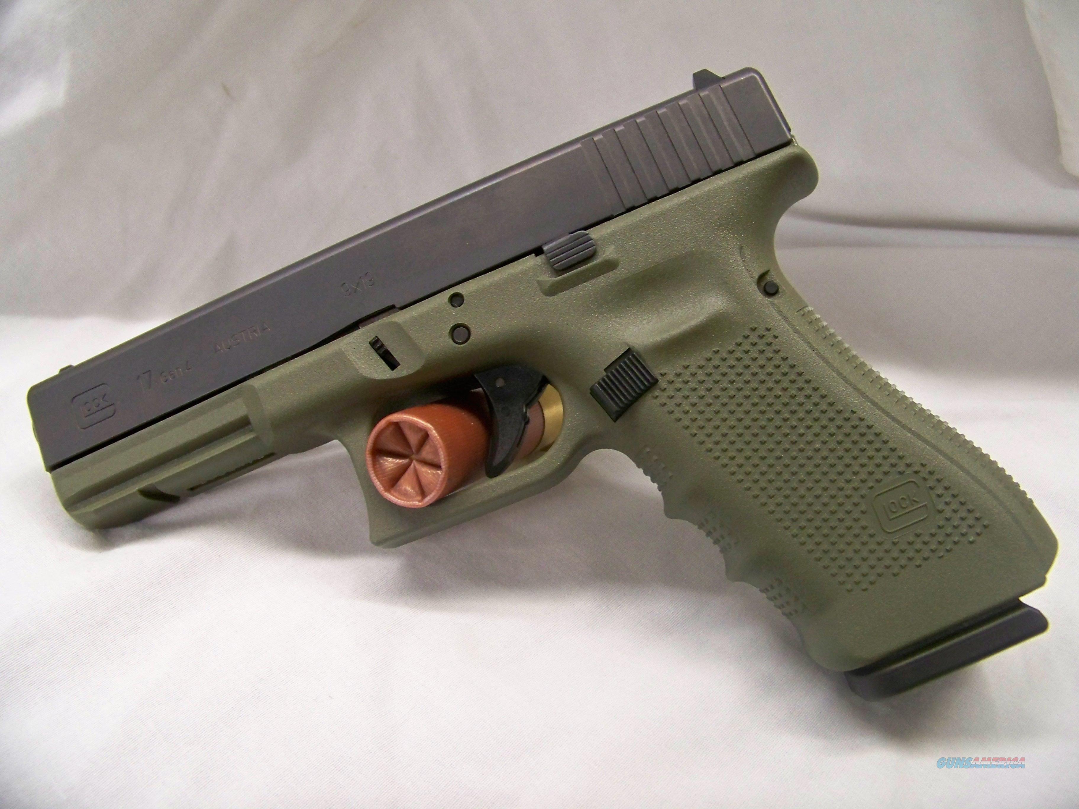 Glock 17 OD Green Frame for sale