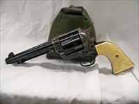 Colt Single Action Army 1st Gen. with Hand Carved Ivory Grips