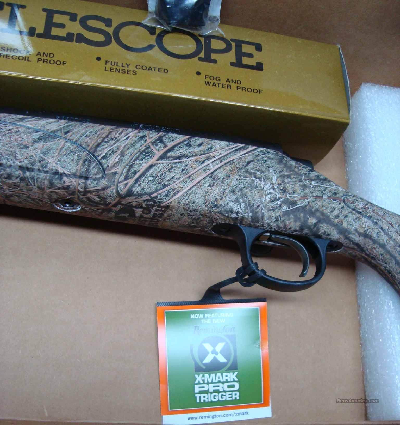 Remington 700 ADL Varmint MO Brush Camo/ Bull B... For Sale