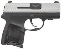 "Sig Sauer 290RS9TSS Compact 9mm 2.9"" Interchangeable Grip Two-Tone"
