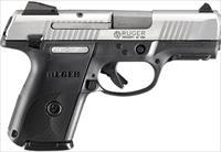 Ruger SR9C 3313 Compact Pistol 9mm 3.5 inch 17rd Stainless