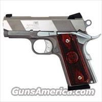 "Iver Johnson Officer 1911 Thrasher 45 ACP 3"" 7+1"