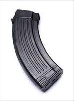 Bulgarian AK-47 7.62x39 30 Round Magazine Steel Ribbed Style Back Black