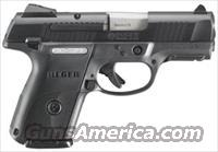 "Ruger SR9C Compact 9mm 3.5"" Bbl 17+1 Rds"