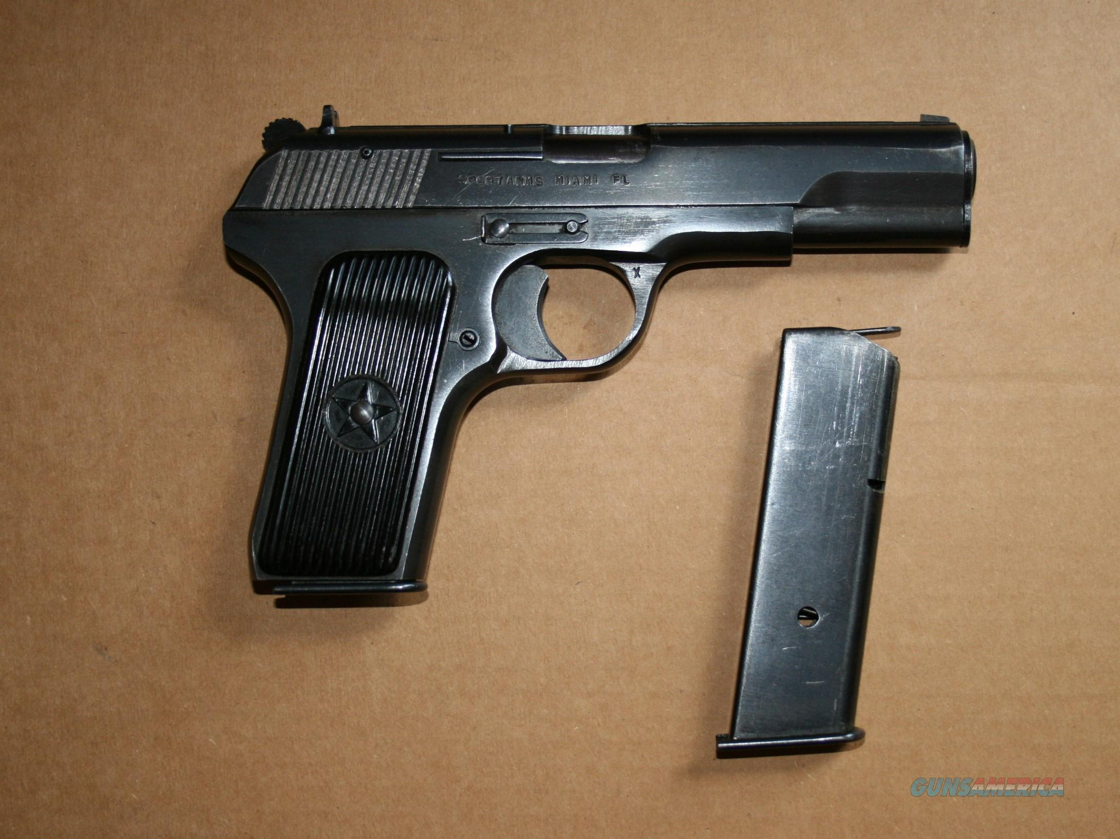 Norinco Chinese Tokarev Model 213 Pistol 9mm