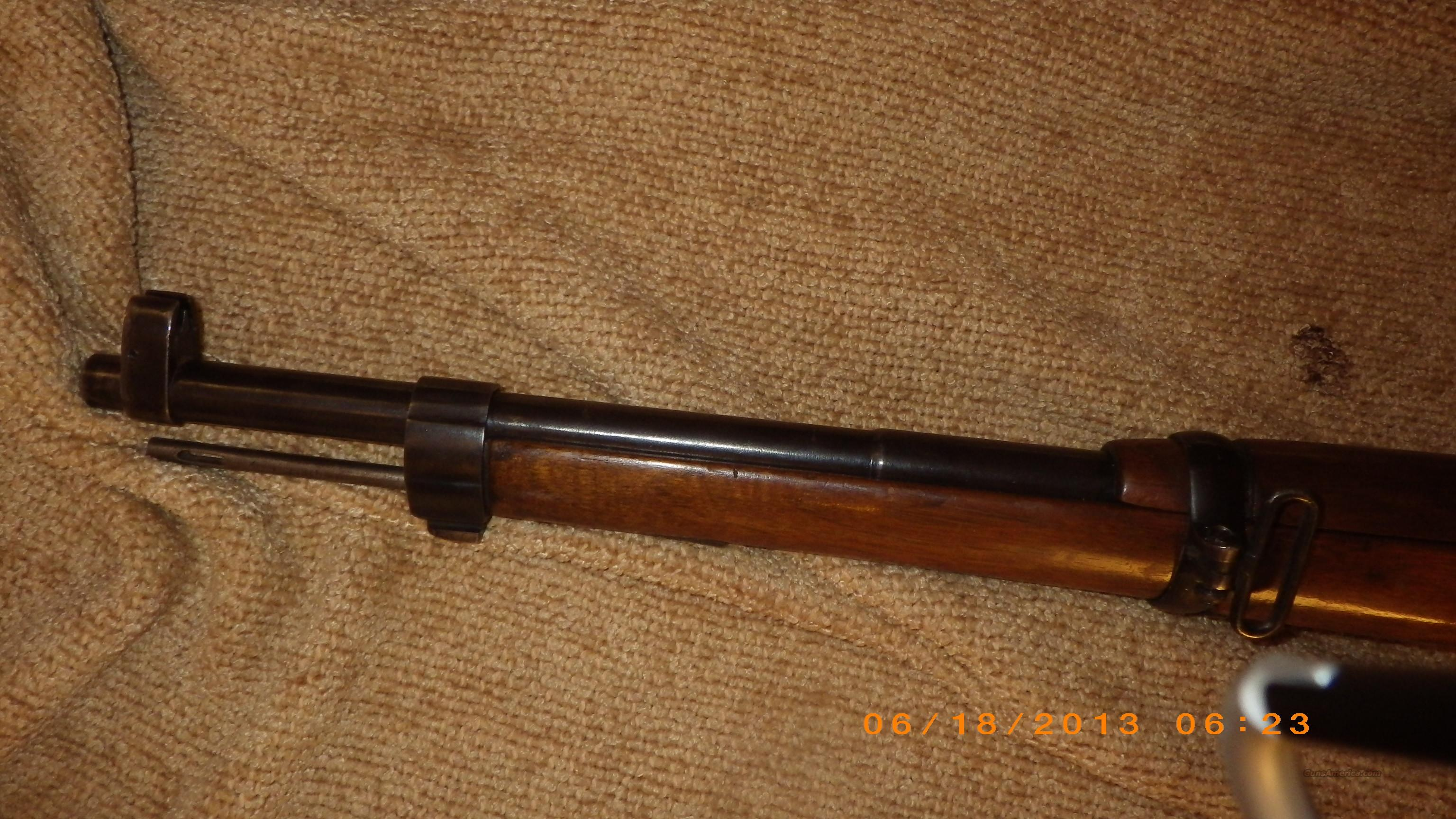 Spanish Mauser Model 1916 Short Rifle 7MM Caliber