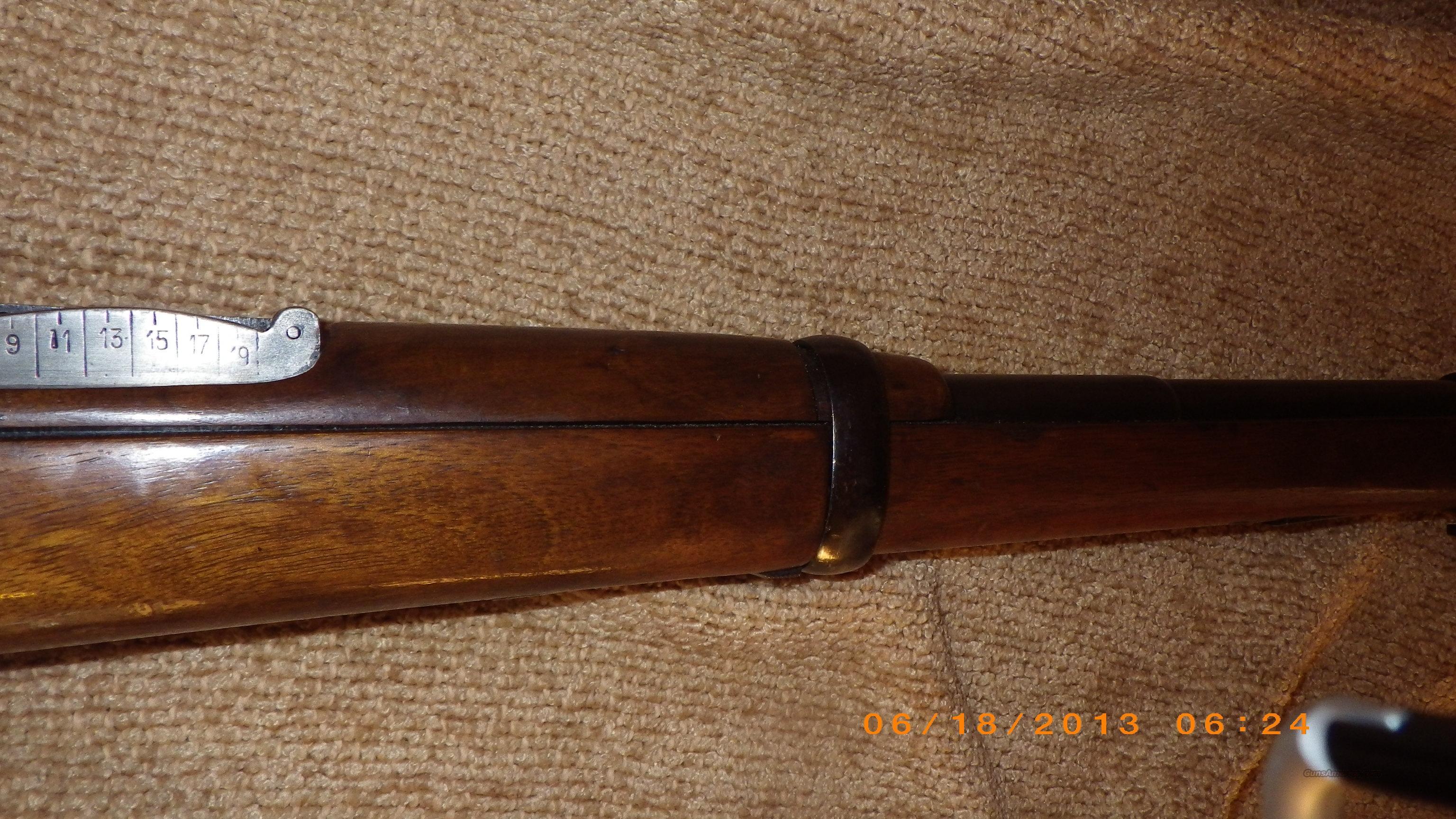 Spanish Mauser Model 1916 Short Rifle 7MM Caliber