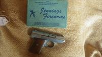 "Jennings J-22 6-Shot 22LR 2.5"" Pistol. With Box and Papers"