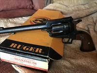 Ruger New Model Blackhawk i.357 MAXIMUM. Like New with Box and Papers