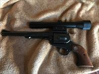 "Ruger Hawkeye Single Shot Pistol  256 Mag., 8 1/2"" Like New"